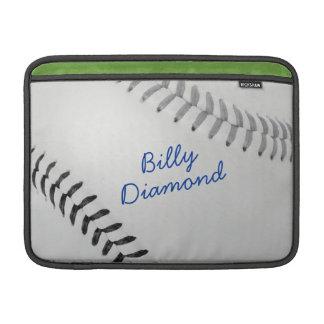 Estilo 1 de Baseball_Color Laces_gy_bk_autograph Fundas Para Macbook Air