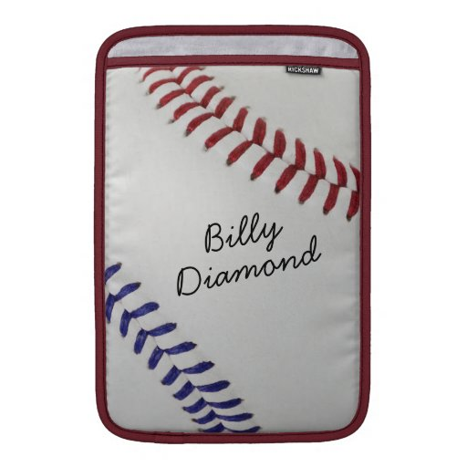 Estilo 1 de Baseball_Color Laces_nb_dr_autograph Fundas Para Macbook Air