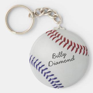 Estilo 1 de Baseball_Color Laces_nb_dr_autograph Llavero Redondo Tipo Pin