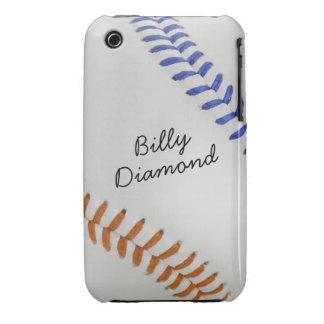 Estilo 1 de Baseball_Color Laces_og_bl_autograph iPhone 3 Case-Mate Fundas