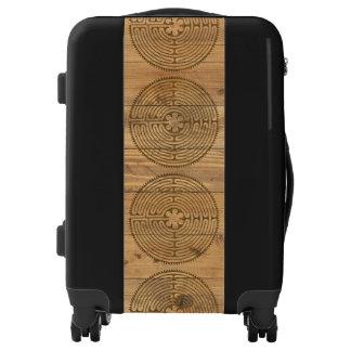 Estilo 1 de la antigüedad del laberinto de maletas