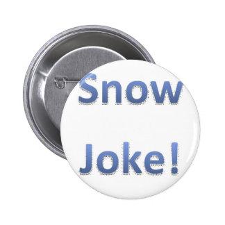 Estilo 1 del chiste de la nieve pin