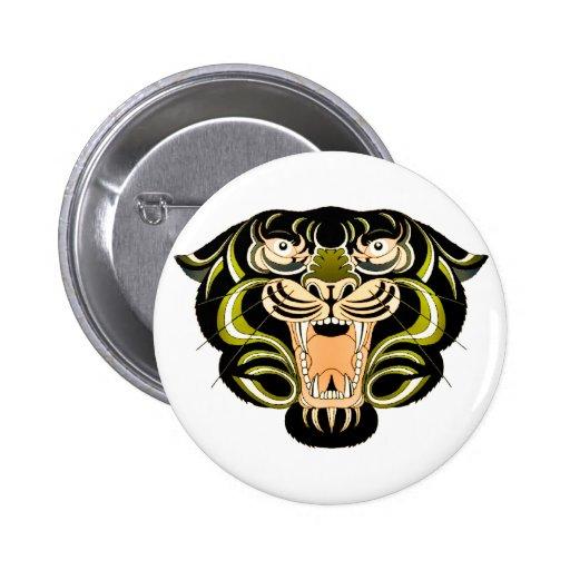 Estilo 1 del tigre pin