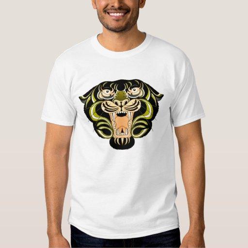 Estilo 1 del tigre playera