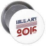 ESTILO 2016 - .PNG DEL VINTAGE DE HILLARY PIN