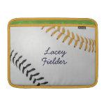 Estilo 2 de Baseball_Color Laces_go_bk_autograph Funda MacBook