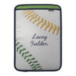 Estilo 2 de Baseball_Color Laces_go_gr_autograph Fundas MacBook