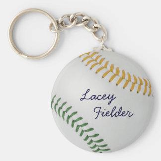 Estilo 2 de Baseball_Color Laces_go_gr_autograph Llaveros