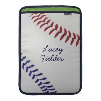 Estilo 2 de Baseball_Color Laces_nb_dr_autograph Fundas MacBook