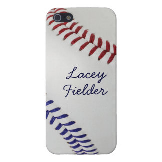 Estilo 2 de Baseball_Color Laces_nb_dr_autograph iPhone 5 Carcasa