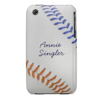 Estilo 2 de Baseball_Color Laces_og_bl_autograph Case-Mate iPhone 3 Cobertura