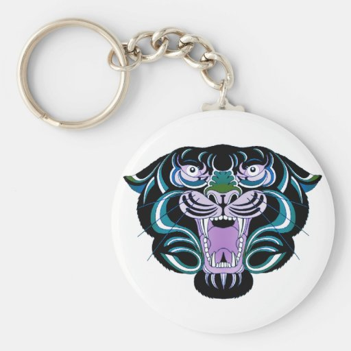 Estilo 2 del tigre llavero personalizado