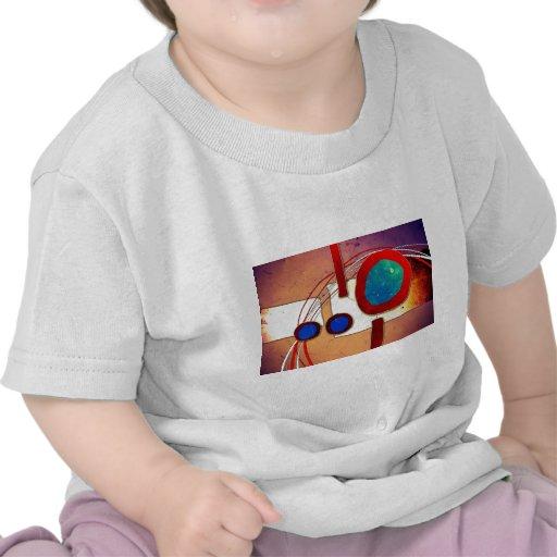 Estilo abstracto 04 camiseta