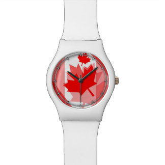 Estilo acodado hoja de arce canadiense CANADÁ Relojes De Mano