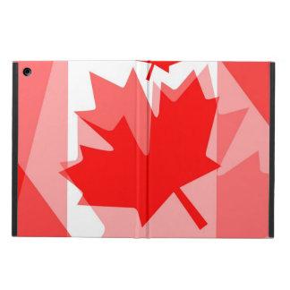 Estilo acodado hoja de arce roja canadiense CANADÁ