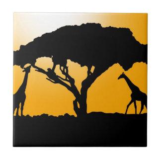 Estilo africano azulejos