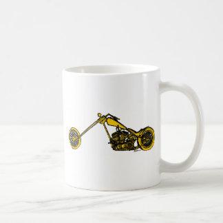 Estilo amarillo de Andy Warhol del interruptor Taza De Café