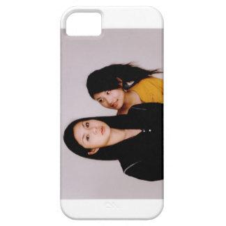 Estilo asiático de la película del chica iPhone 5 funda