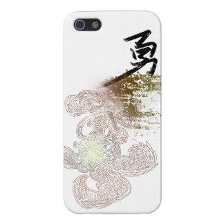 Estilo asiático Tótem-Valiente iPhone 5 Funda
