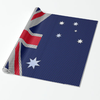 Estilo australiano del cromo de la fibra de papel de regalo