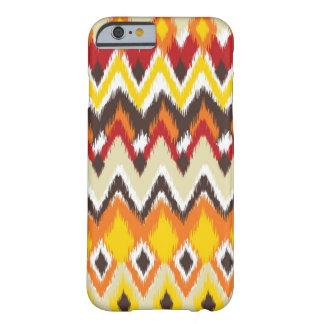 estilo azteca - brillante - encajone para el caso funda de iPhone 6 slim