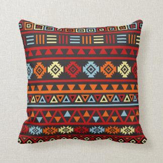 Estilo azteca Ptn (grande) - rojo del amarillo ana Almohadas