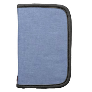 Estilo azul claro del dril de algodón organizador