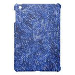 Estilo azul del vitral del diamante iPad mini protector