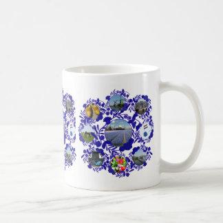 Estilo azul Holanda de Delftware/Delft Taza De Café