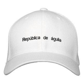 Estilo blanco del béisbol de República de águila c