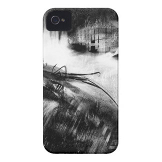 Estilo blanco y negro 2 carcasa para iPhone 4 de Case-Mate