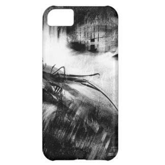 Estilo blanco y negro 2 carcasa para iPhone 5C