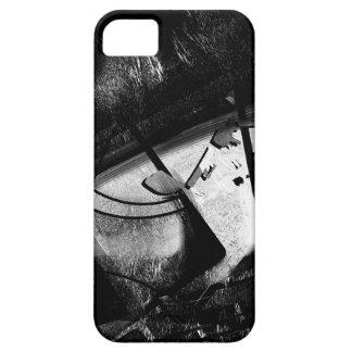 Estilo blanco y negro funda para iPhone SE/5/5s