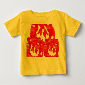 Estilo: Camiseta fina del jersey del bebé