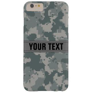 Estilo Camo gris #2 del ACU personalizado Funda Para iPhone 6 Plus Barely There