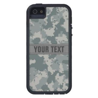 Estilo Camo gris #2 del ACU personalizado iPhone 5 Fundas