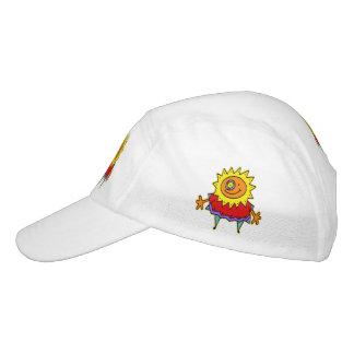 Estilo cómico de la SEÑORA SOLEADA + su backgr. y Gorras De Alto Rendimiento