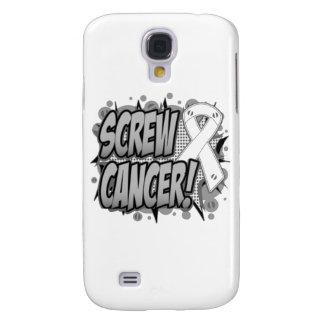Estilo cómico de Retinoblastoma del tornillo Funda Para Galaxy S4