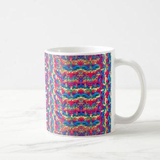 Estilo Crocheted en la taza de café
