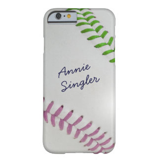 Estilo de Baseball_Color Laces_mv_lg_Autograph Funda De iPhone 6 Barely There