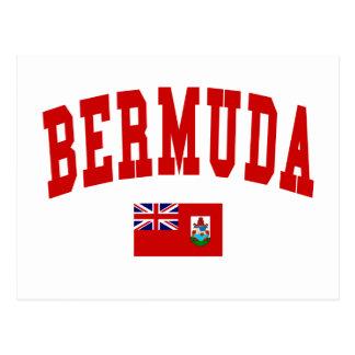 Estilo de Bermudas Tarjetas Postales