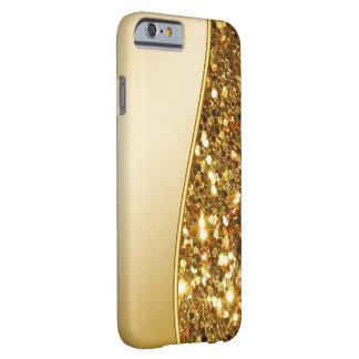 Estilo de Bling del brillo Funda Para iPhone 6 Barely There