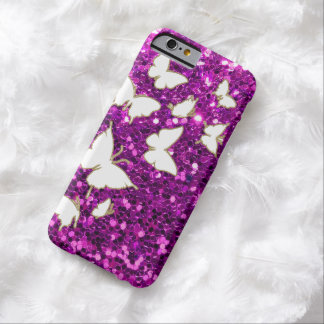 Estilo de Butterly Bling Funda Barely There iPhone 6
