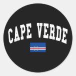 Estilo de Cabo Verde Etiquetas