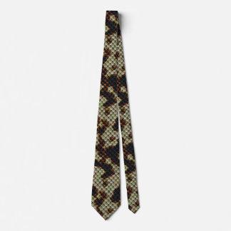 Estilo de Camo de la piel de serpiente Corbatas Personalizadas