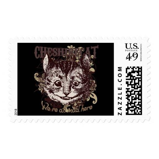 Estilo de Carnivale del gato de Cheshire Franqueo