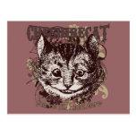 Estilo de Carnivale del gato de Cheshire Postales