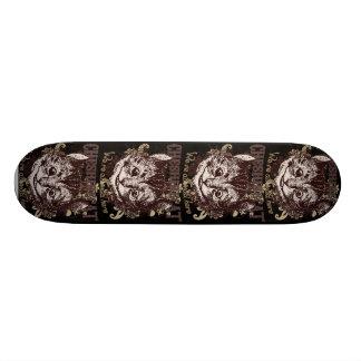 Estilo de Carnivale del gato de Cheshire Skateboards
