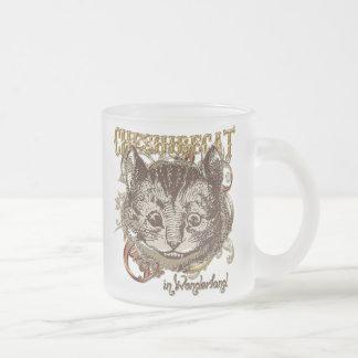 Estilo de Carnivale del gato de Cheshire (versión  Taza