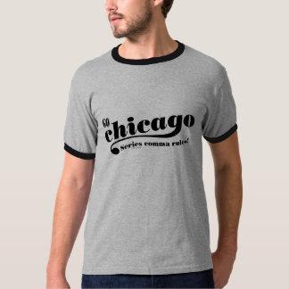Estilo de Chicago Playeras